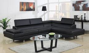 modern leather sectional sofa groupon goods
