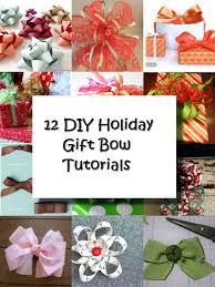 gift bow diy 12 diy gift bow tutorials holidays diy