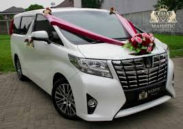 land rover bandung new alphard white 2016 terbaru by majestic wedding car