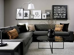 grey home interiors contemporary black and grey living room home interiors
