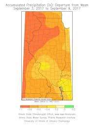 Map Of Illinois State by Current Climate Conditions In Illinois State Climatologist Office