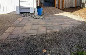 Paver Patio Installation by Backyard Transformation In Tumwater Ajb Landscaping U0026 Fence