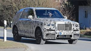 rolls royce truck rolls royce cullinan suv caught testing for the first time