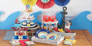 nautical party supplies ahoy nautical 1st birthday party supplies party city