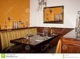 desert golf course restaurant dining booth table royalty free