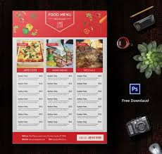 6 free menu designs cafe menu restaurant menu party menu