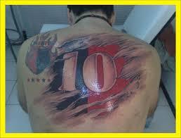Newell's Tu nombre es mi tatuaje... la marca del amor... �