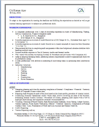 Sample Resume For Ca Articleship Training by Over 10000 Cv And Resume Samples With Free Download Over 10000 Cv