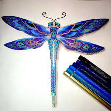 11 dragonfly tattoo designs
