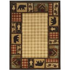 lodge area rugs rugs the home depot