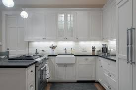 Small Kitchen Peninsula Design Ideas - Small kitchen white cabinets