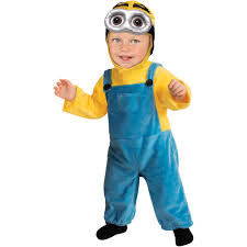 Halloween Costumes Girls Age 8 Minion Toddler Jumpsuit Halloween Costume Walmart