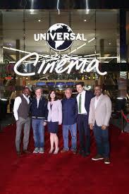 universal city walk halloween steven spielberg helps grand open universal cinema at citywalk