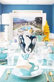 blue dining room reveal w benjamin moore pencil shavings