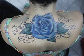 blue rose tattoo cover up youtube