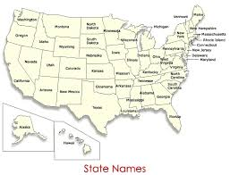 map usa states names united states map with state names us map with state names with