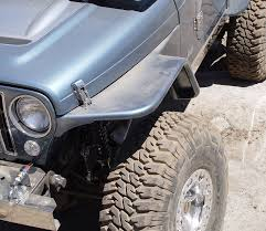 lj jeep lifted jeep tj tube fenders 6 inch flare 97 06 wrangler tj lj tnt customs
