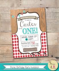 picnic invitation birthday picnic invitation template https