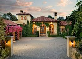 french mediterranean homes mediterranean exterior of home with arched window transom window