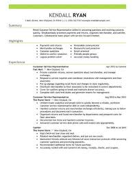 resume exles for customer service position best retail customer service representative resume exle livecareer