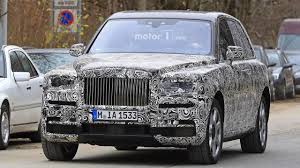 rolls royce suv rolls royce admits cullinan name u201cjust a working project title