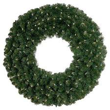 60 inch pre lit wreath outdoor pre lit wreath