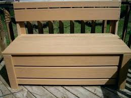 patio bench with storage patio bench outdoor cushion storage bench