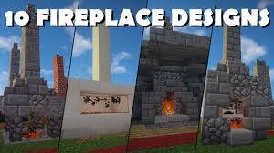 fireplace designs minecraft home decorating interior design
