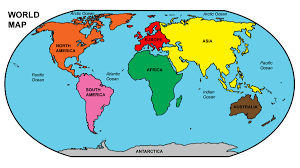 Images Of The World Map by World Map Labled Roundtripticket Me