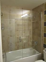 Glass Door Showers Awesome Best 25 Tub Glass Door Ideas On Pinterest Bathtub Remodel