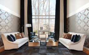 Black Living Room Curtains Ideas Creative Black And White Patterned Curtain Ideas