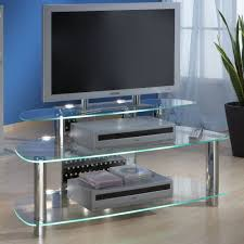 Esszimmertisch Beleuchtung Tv Tisch Glas Belzig Aus Glas Mit Beleuchtung Pharao24 De