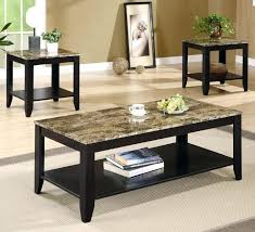 glass coffee table set of 3 3 piece table set for living room 3 piece living room table sets
