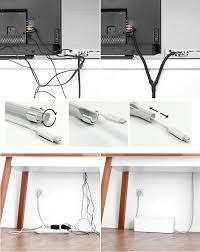 cache fil bureau la gaine soba pour ranger et cacher ses fils électriques le