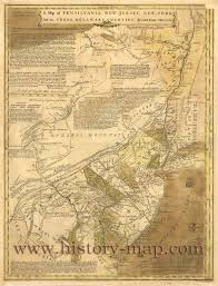 A Map Of Pennsylvania by States In 1700 U0027s