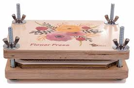 flower press flower press deluxe wooden kit time to create