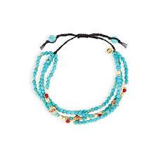 turquoise bead bracelet images Turquoise beaded bracelet bella leigh jpg