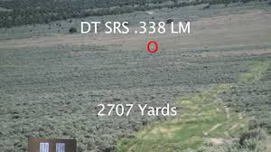 338 lapua effective at 2707 yards with srs youtube