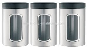 kitchen canisters stainless steel stainless steel kitchen window storage canister storage box bin