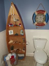 nautical themed bathroom ideas ok looking boat shelf could rebuild with cupboards on the bottom