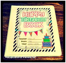 happy birthday book a cupcake for the happy birthday craftivity printables