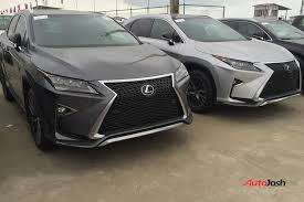 where do they lexus cars what do you think about these 2016 lexus rx 350 f sport spotted in