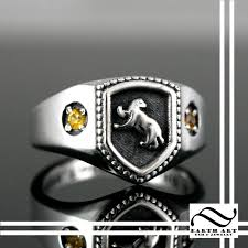 Harry Potter Bathroom Accessories Buy A Hand Made Hufflepuff House Ring Harry Potter Inspired Made