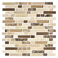 Stone Mosaic Tile Kitchen Backsplash by Glass U0026 Stone Tile Mosaic Tile The Tile Shop