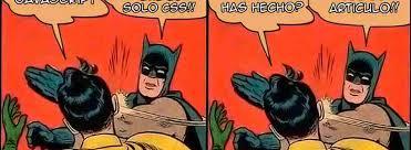 Memes De Batman Y Robin - no solo css design tecno mkt
