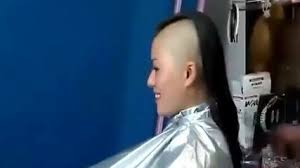 videos of girls barbershop haircuts for 2015 actress shaves her head youtube video dailymotion