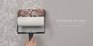 paint rollers with patterns how to paint with patterned paint rollers thedecorcafe com