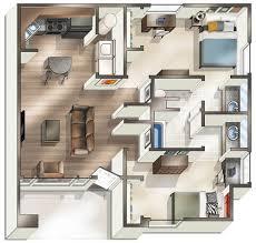 2 floor bed 1 2 u0026 4 bedroom off campus student housing in oxford oh