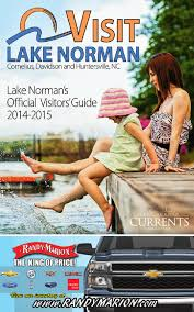lake norman u0027s visitor guide 2014 2015 by visit lake norman issuu