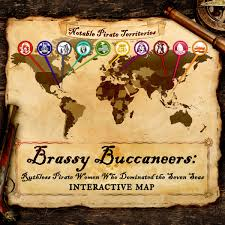 Pirates Of The Caribbean Map by Famous Pirate Women In History Interactive Map Halloween